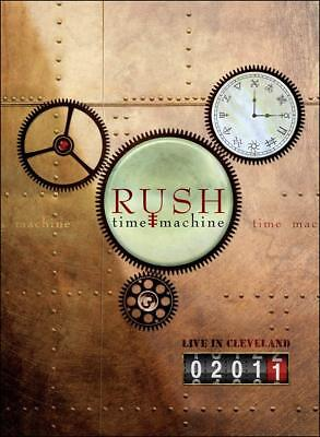 NEW - Rush: Time Machine 2011 - Live in Cleveland [Blu-ray]