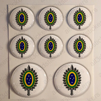 Sweden Air Force Stickers Roundel Cockade 3D Adhesive Flag Resin Domed