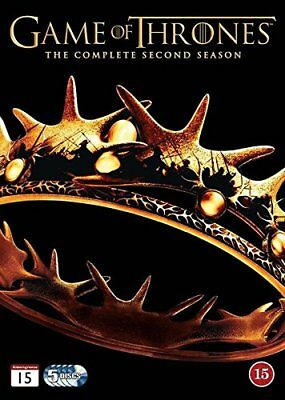 Game of Thrones Season 2 DVD -  CD 0UVG The Fast Free Shipping