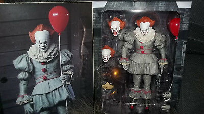 NECA 2017 It Pennywise the Clown Ultimate Figure Authentic USA Unopened