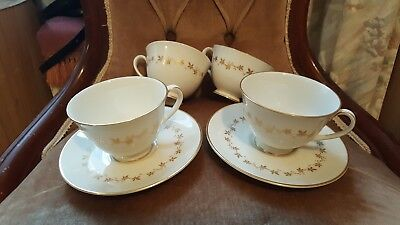 Royal Doulton Citadel 4 cups and 2 saucers in good condition