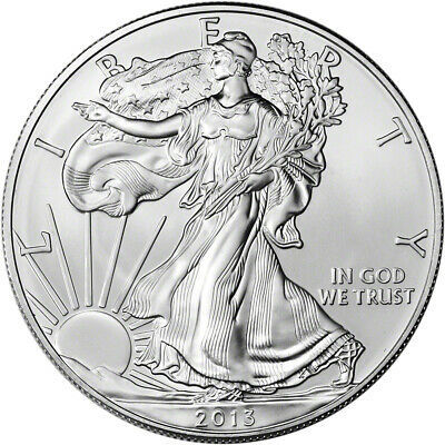 2013 American Silver Eagle - Brilliant Uncirculated