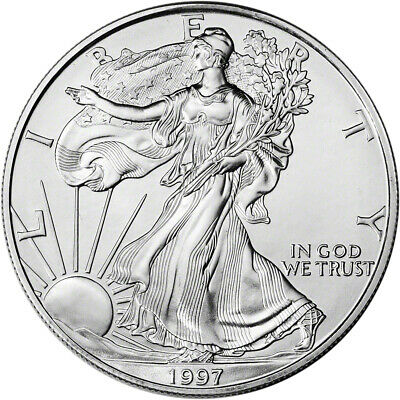 1997 American Silver Eagle - Brilliant Uncirculated