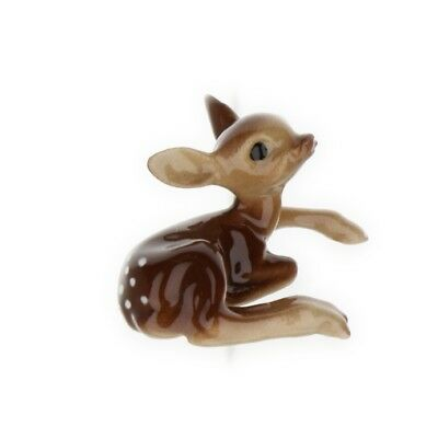 Recumbent Fawn Miniature Deer Figurine Wildlife Model USA made by Hagen-Renaker