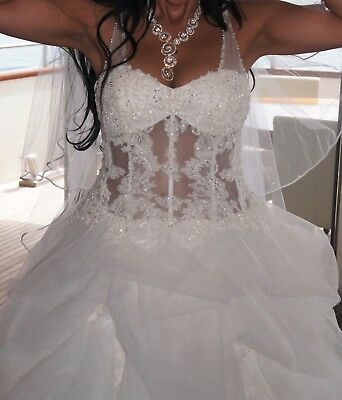 Satin Corset Kit Zipper Replacement Wedding Gown Dress All Colors Lengths