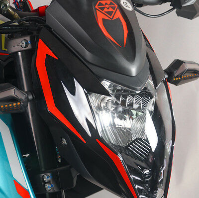 Motorcycle Reflective Fuel Tank Stickers Protection Waterproof For CFMOTO NK150