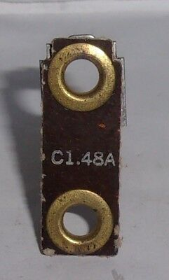 GENERAL ELECTRIC CR123-C1.48A OVERLOAD RELAY HEATER ELEMENT CR123-C148A