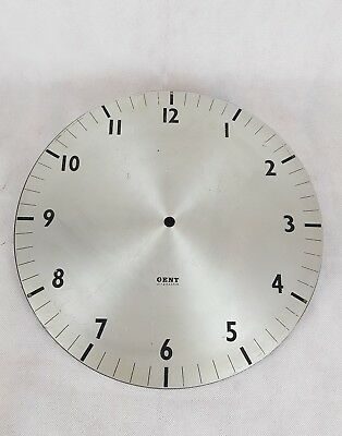 Vintage Gent of Leicester Clock Face Metal