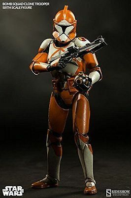 SideShow Star Wars Bomb Squad Clone Trooper 1/6 Scale Collectible Figure New