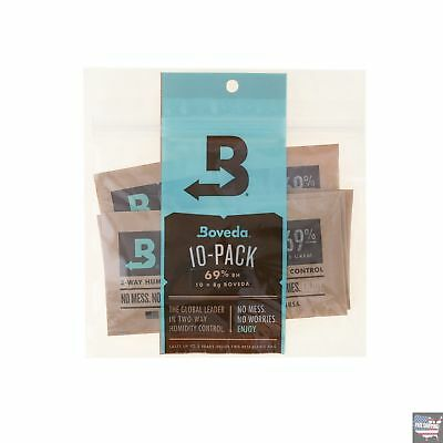 Humidity Moisture Control 69%Rh Storage Tobacco Cigar Herbs Keeping Boveda Packs