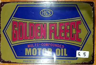 Golden Fleece Tin Sign Bar Shed & Man Cave Signs AU Seller
