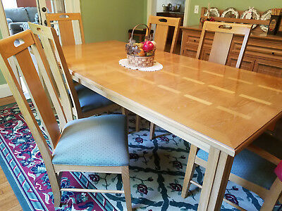 THOMASVILLE AMERICAN REVIVAL Dining Room Set w/ 6 ...