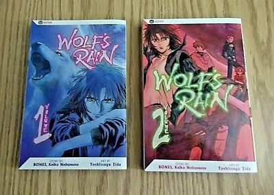 Wolf's Rain Volumes 1 & 2 Viz Manga Lot In English!