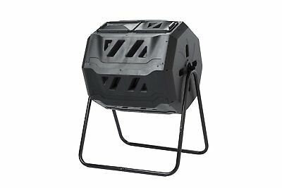 160 Litre Maze ROTO Rotating Elevated Composter Kit - Plastic with Steel Frame