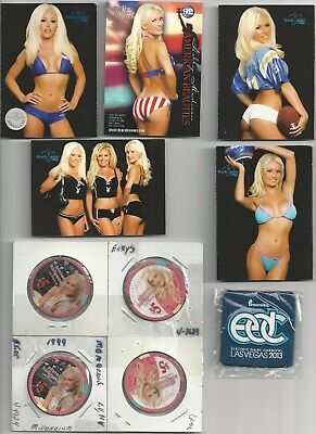 Las Vegas Holly Madison Playboy Planet Hollywood Poker Chips Kendra Bench Warmer