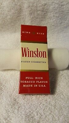 Collectible Vietnam War Era C-Ration  * WINSTON * Cigarettes 4 pack NEW Military
