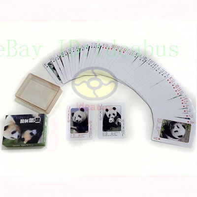 Collectible Playing card/Poker Deck 54 cards of lovely animal GIANT PANDA