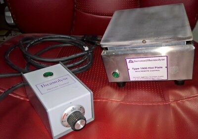 Barnstead Thermolyne Type 1900 Hot Plate w/ remote Model RC1915 120V 750W tested