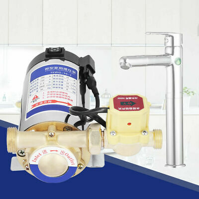 Automatic Household Stainless Steel Boost Pump for Water Pipeline 100W 220V