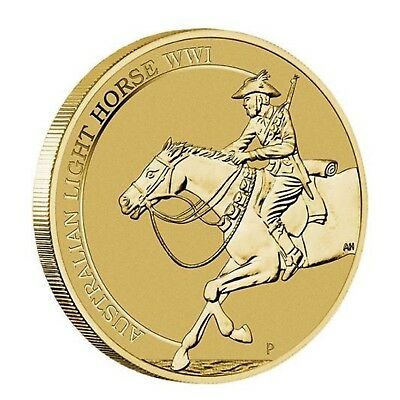 2017 Australian Light Horse WWI Centenary $1 One Dollar Unc Coin Perth Mint