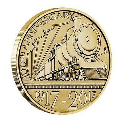 2017 Trans - Australian Railway Centenary $1 One Dollar Unc Coin Perth Mint