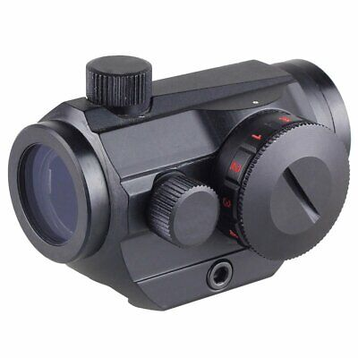 Tactical Rifle Red Green Dot Sight Scope con 20mm Picatinny Rail Mount