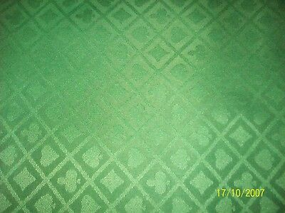 POKER TABLE SPEED CLOTH 1400 MM WIDE   green