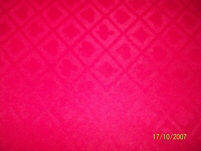 POKER TABLE SPEED CLOTH 1400 WIDE   red
