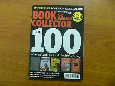 BOOK & MAGAZINE COLLECTOR No 265 - 100th ISSUE - MOST VALUABLE BOOKS