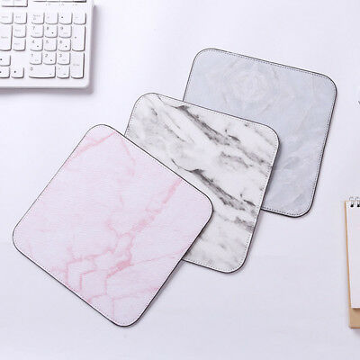 Cartoon Office Marble Pattern Mouse Pad Rubber Desk Mat Gaming Anti-slip