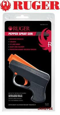 Ruger Pepper Spray Gun Police Strength Re-Loadable 10-Foot Range # RU-LJ-BK New