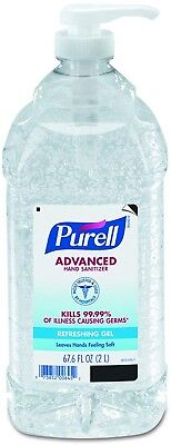 PURELL 962504CT Advanced Instant Hand Sanitizer, 2liter Bottle (Case of 4)