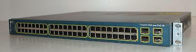 Cisco Catalyst 3560 Series - WS-C3560-48PS-S - 48 Port 10/100 Ethernet Switch
