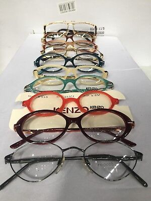 Wholesale Joblot Of Retro Vintage Designers Glasses Frames And Cases