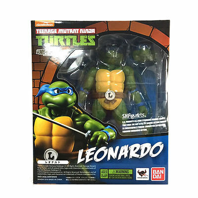 Bandai Teenage Mutant Ninja Turtles TMNT Leonardo SH Figuarts Action Figures Toy