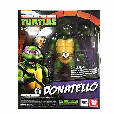 Bandai Teenage Mutant Ninja Turtles TMNT Donatello SH Figuarts Nickelodeon Toy