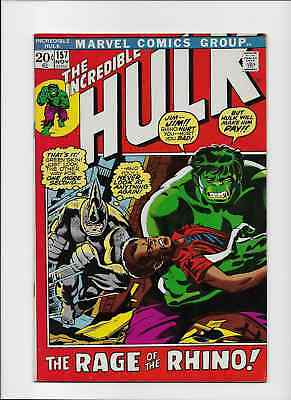 THE INCREDIBLE HULK - 157 - November 1972. VFM/NM (9.0)