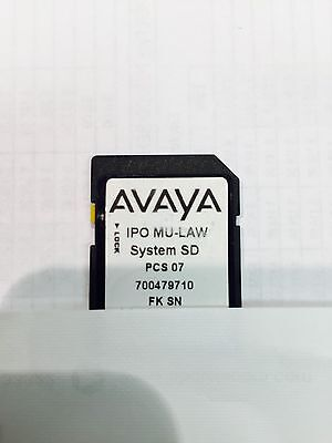 Avaya Sd Card License 14 Ip End, 5 Mobile Workers