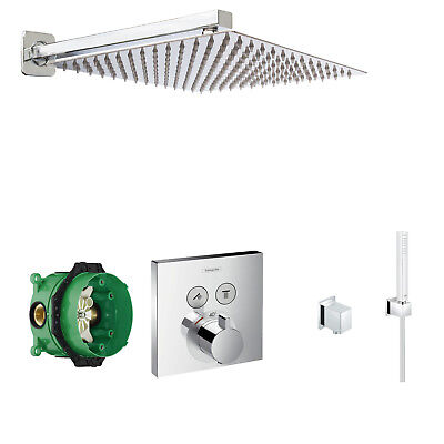 HANSGROHE Select Touch Thermostat,300mm Kopfbrause,ShowerSelect Duscharmatur A44