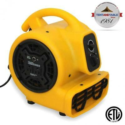 1/5 Horsepower Zoom Centrifugal Floor Dryer, Air Mover Commercial Quality...
