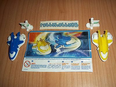 Serie Completa Astronavi Sd510 - Sd510 A + 2 Bpz India Kinder Joy 2016/2017