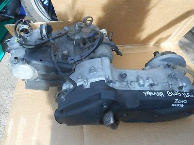 yamaha bws125 bws  injection engine motor complete mint runner