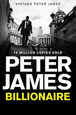 Billionaire by James, Peter Book The Cheap Fast Free Post