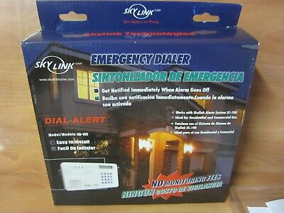 Skylink AD-105 Dial Security Alert Emergency Voice Phone Dialer. FREE SHIPPING.