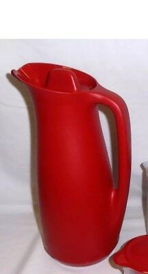 Tupperware Thermo Tup (Thermos) Pitcher 1L - Brand New Red