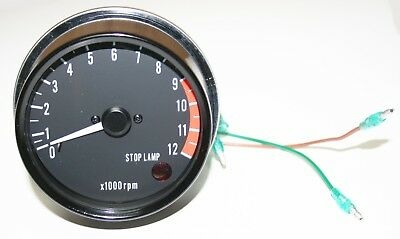 Kawasaki Z1 KZ900 Stock Style Speedometer Assembly 25015-025