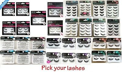 100% AUTHENTIC Ardell Fake Eye Lashes Choose from - Individual /Strip /Magnetic