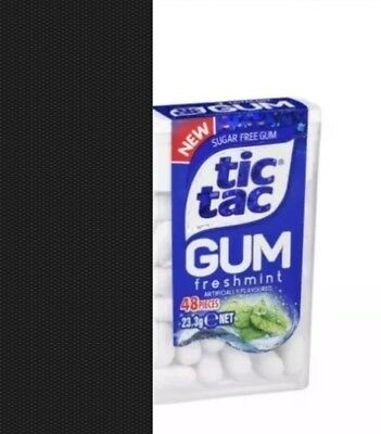4 Packs of Tic TAC Gum - FRESHMINT - 23.3g Each Pack - Chewing Gum - NEW