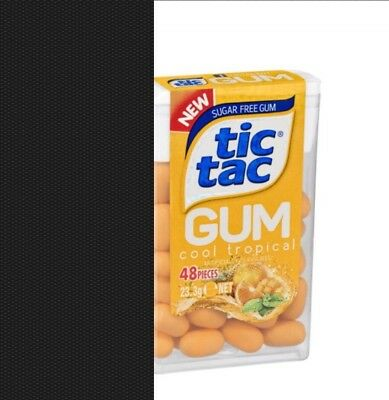 2 Packs of Tic TAC Gum - COOL TROPICAL - 23.3g Each Pack - Chewing Gum - NEW