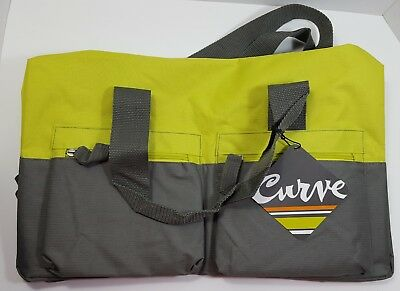 305b6dc1e Curves Duffel Bag Tote Very Durable High quality Polyester (BAG ONLY) Green